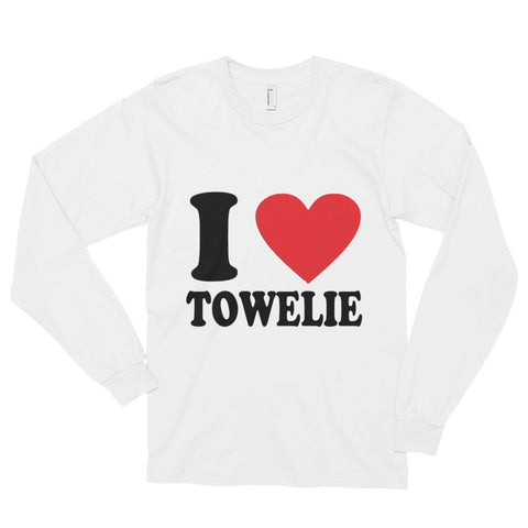 I Love Towelie Long sleeve t-shirt (unisex)--AshoppingZ