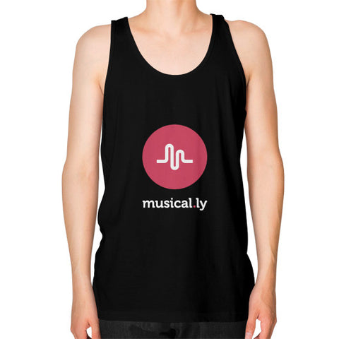 'musical.ly fan' Men's Tank-Top Black AshoppingZ.com