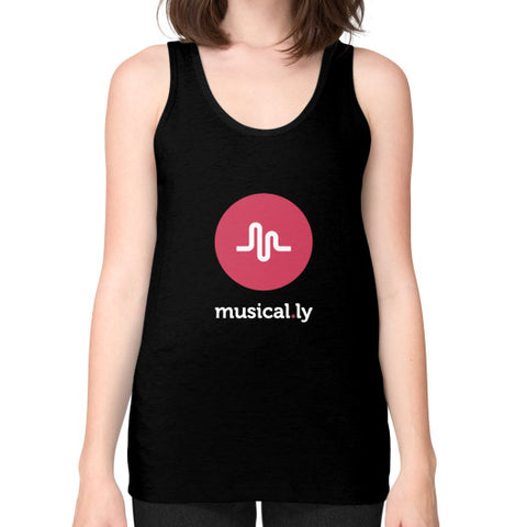 'musical.ly fan' Women's Tank-top Black AshoppingZ.com