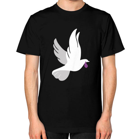 """When Doves Shed Purple Tears or Cry Rain"" Men's T-Shirt Black AshoppingZ.com"