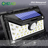 LED Wall Solar lights Outdoor Motion Sensor Waterproof