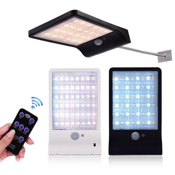 48 LED Remote Solar Light Colour Adjustable, Waterproof