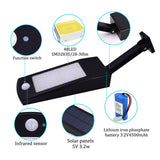 LED Solar Light 900LM Bright, IP65 Waterproof Outdoor
