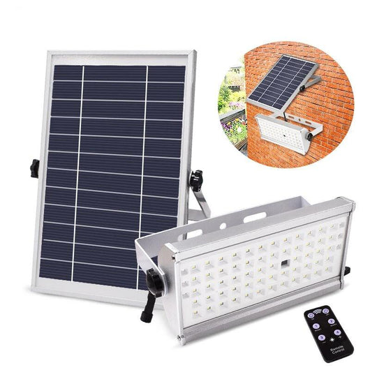 LED Solar Power Super Bright 6W,12W Spotlight Waterproof With Remote Control
