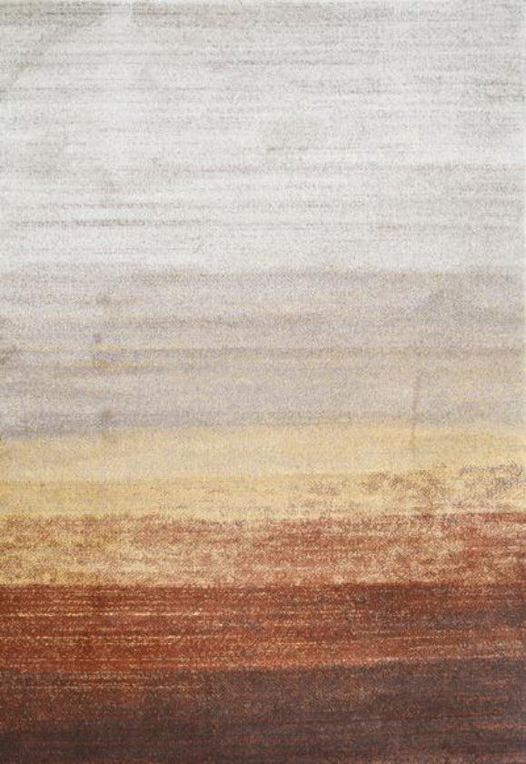 Grace Rust Ombre Rug