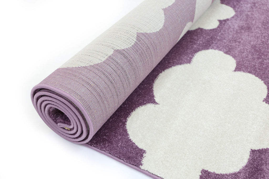 Bodhi Cloud Purple White Rug