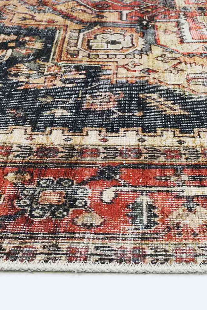 Louise Traditional Vintage Coloured Modern Floor Rug