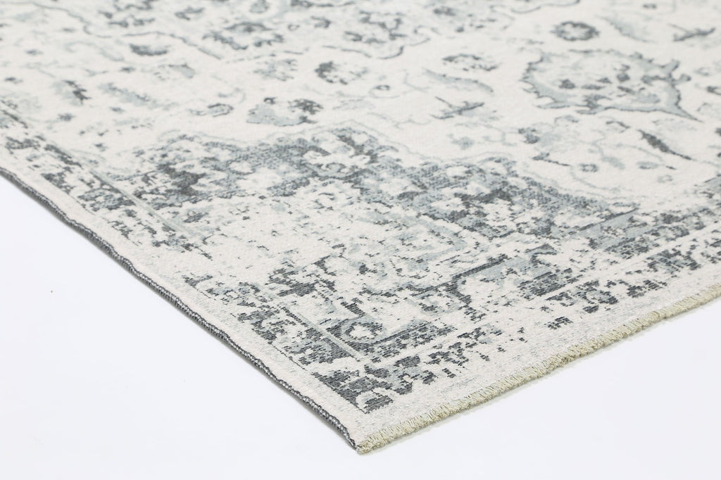 Georgia Vintage Reversible Grey Rug