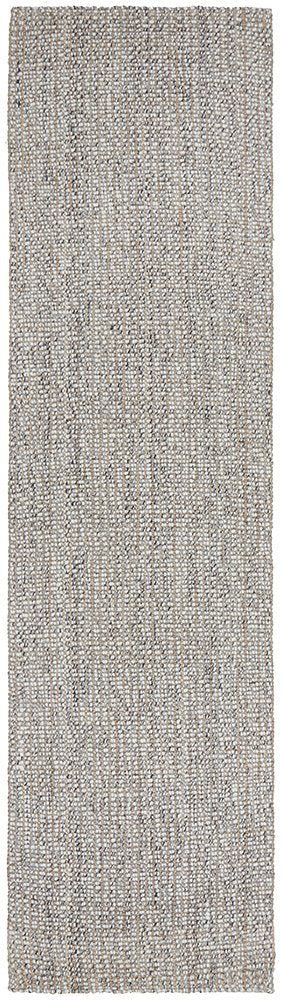 Lamont Scandinavian Inspired Grey Modern Rug Runner
