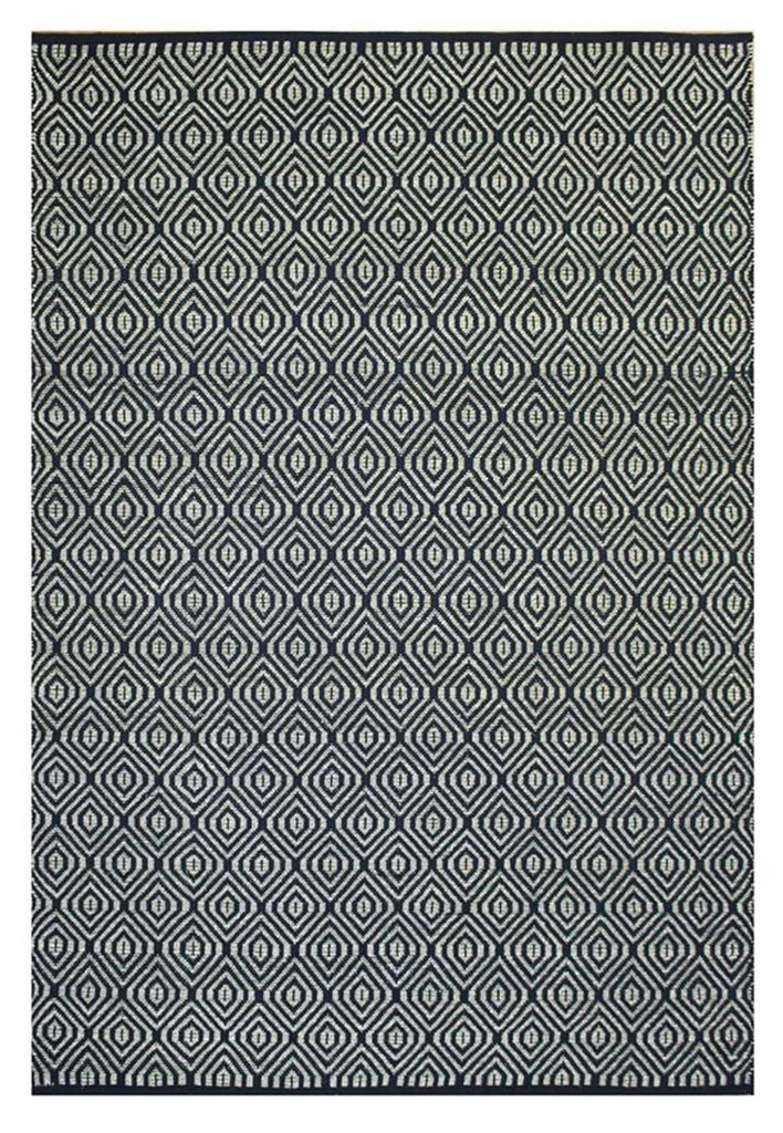 Kyoto Black Natural Fibre Rug - Coconapple