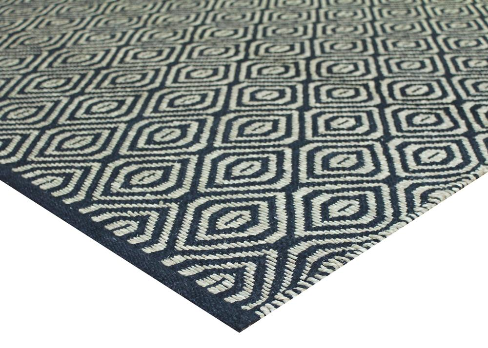 Kyoto Black Natural Fibre Rug - Coconapple2