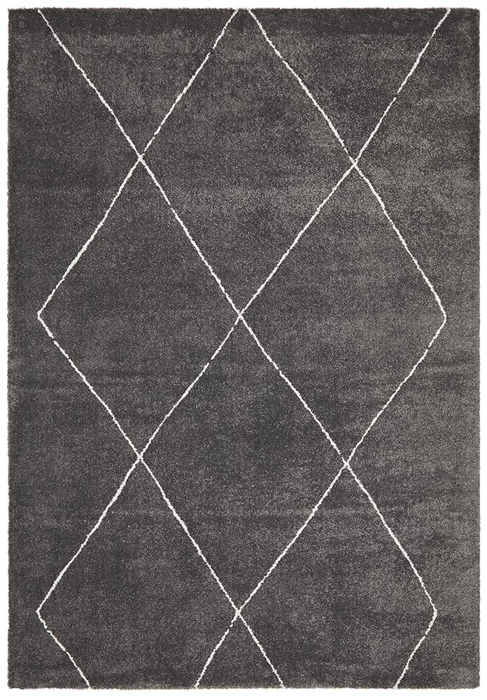 Aldrin Transitional Diamond Charcoal Rug - Coconapple_7