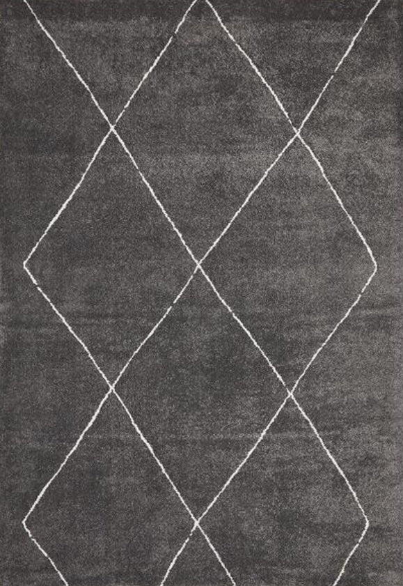 Aldrin Transitional Diamond Charcoal Rug - Coconapple_1