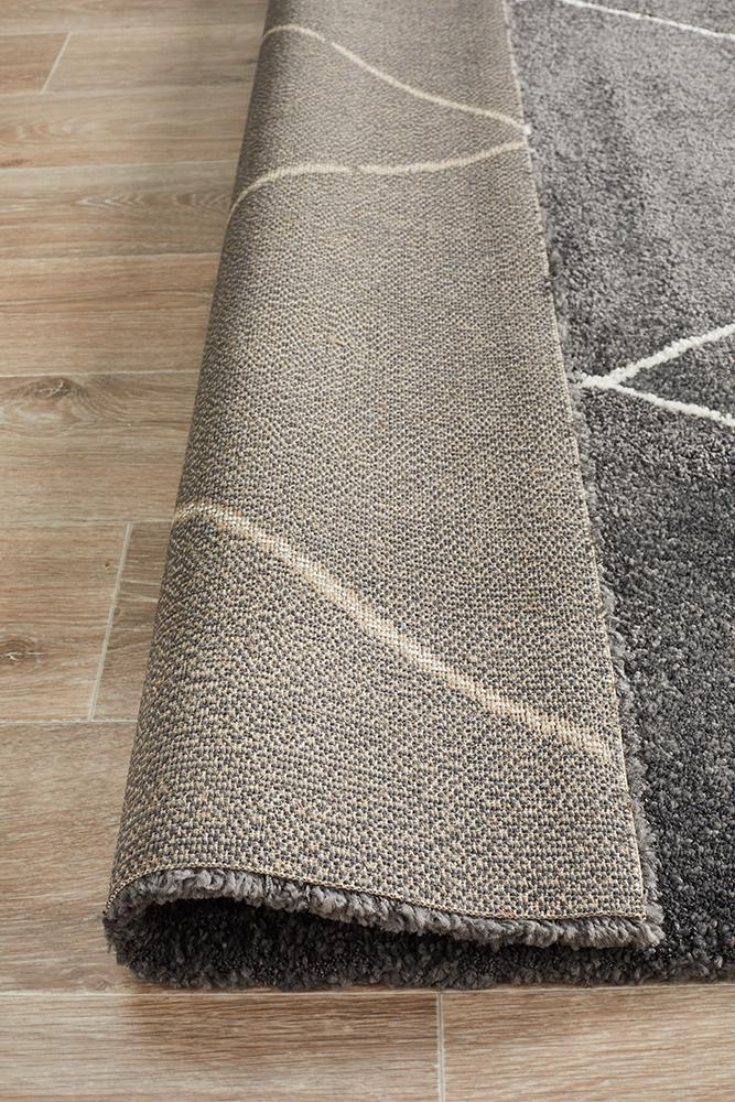 Aldrin Transitional Diamond Charcoal Rug - Coconapple_8