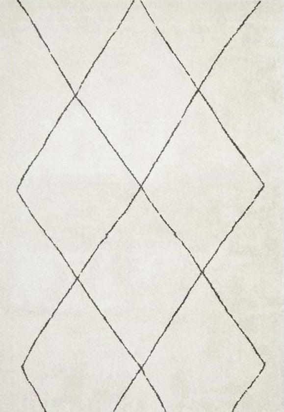 Aldrin Transitional Diamond Ivory Rug - Coconapple_1