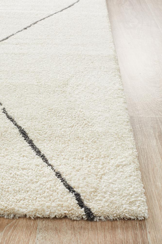 Aldrin Transitional Diamond Ivory Rug - Coconapple_4