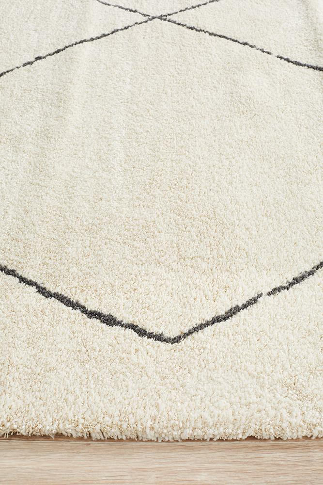 Aldrin Transitional Diamond Ivory Rug - Coconapple_5