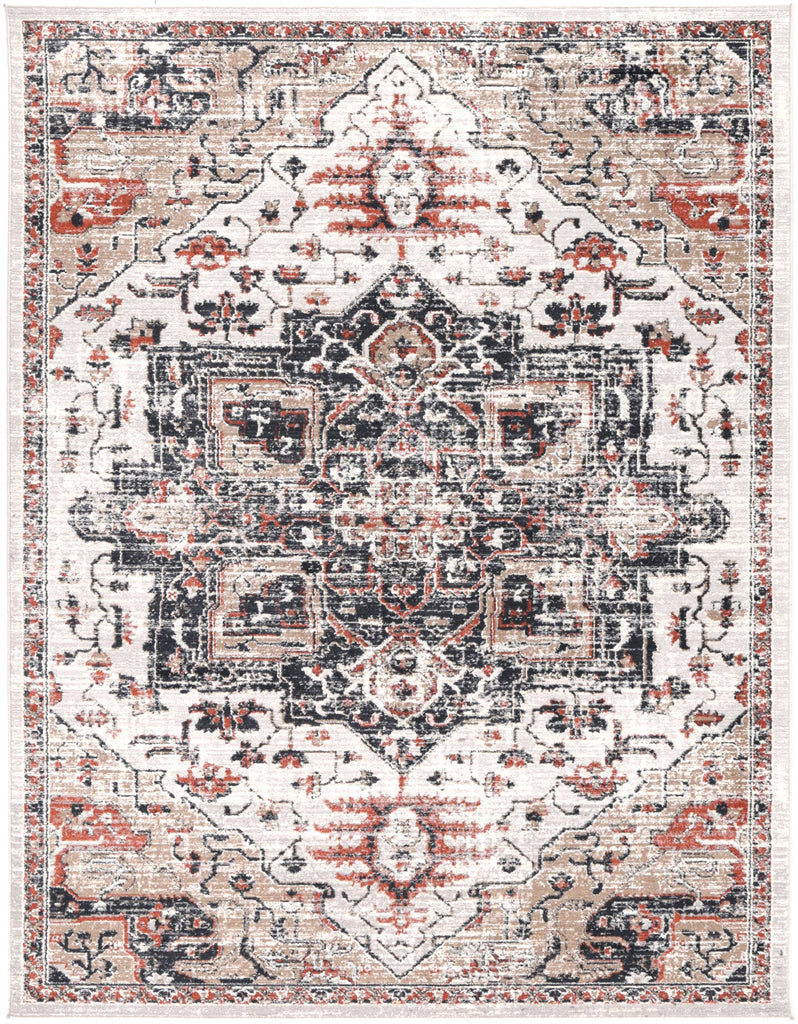 Levisa Heirloom Inspired Coloured Traditional Rug