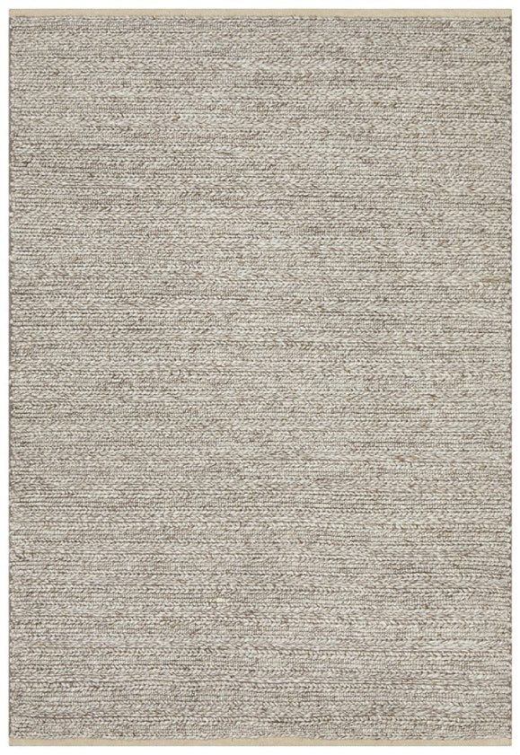 Hazel Natural Textured Modern Floor Rug