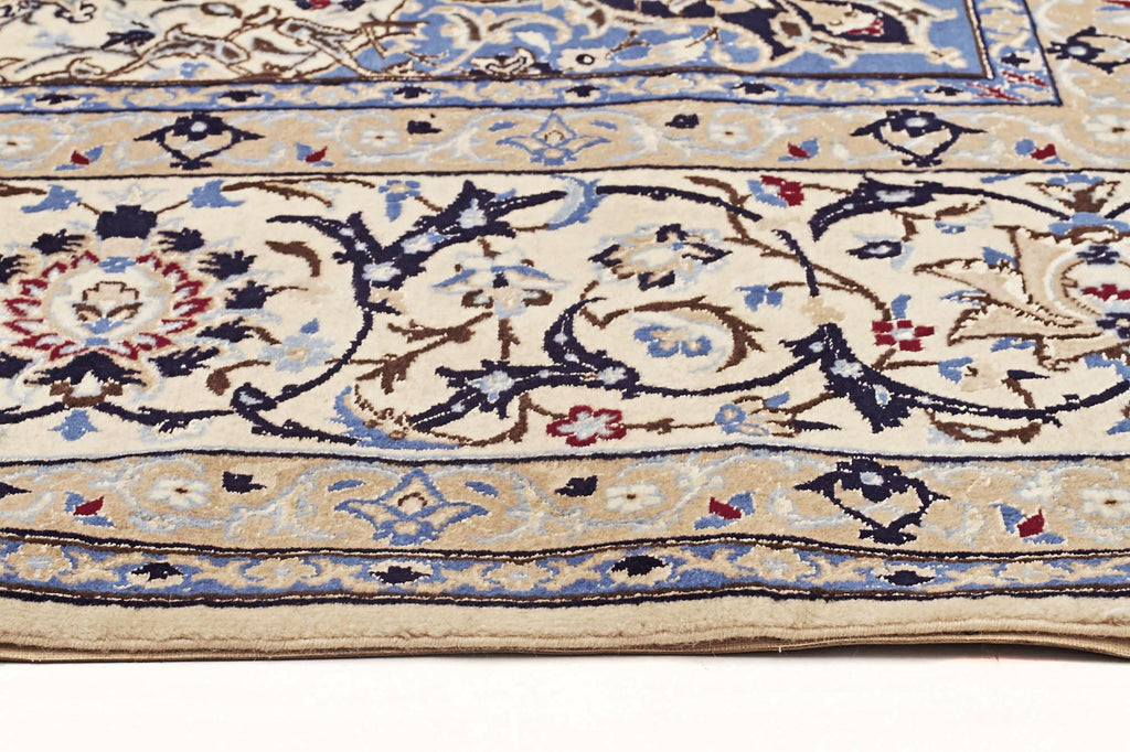 Traditional Naein Persian Rug - Size: 254x353cm - Coconapple_4