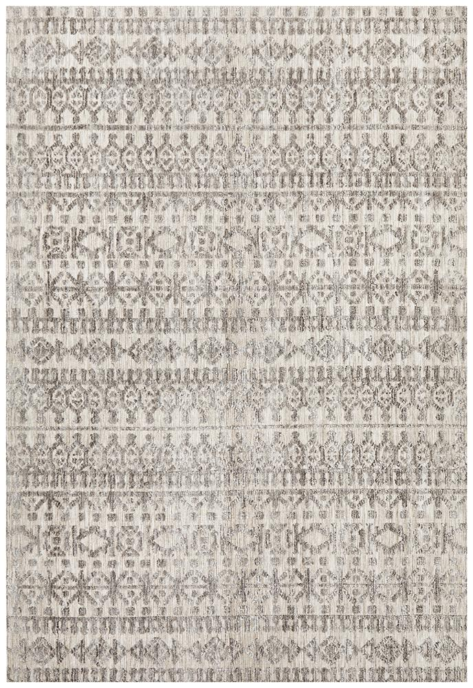 Moher Tribal Beige Taupe Rug - Coconapple_2