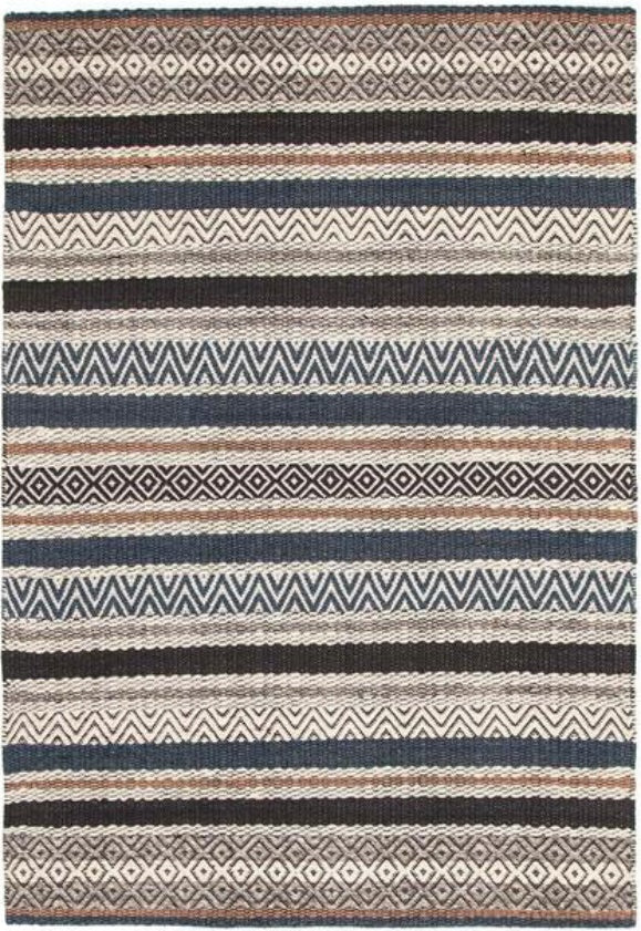 Rene Rhythm Swing Denim Rug