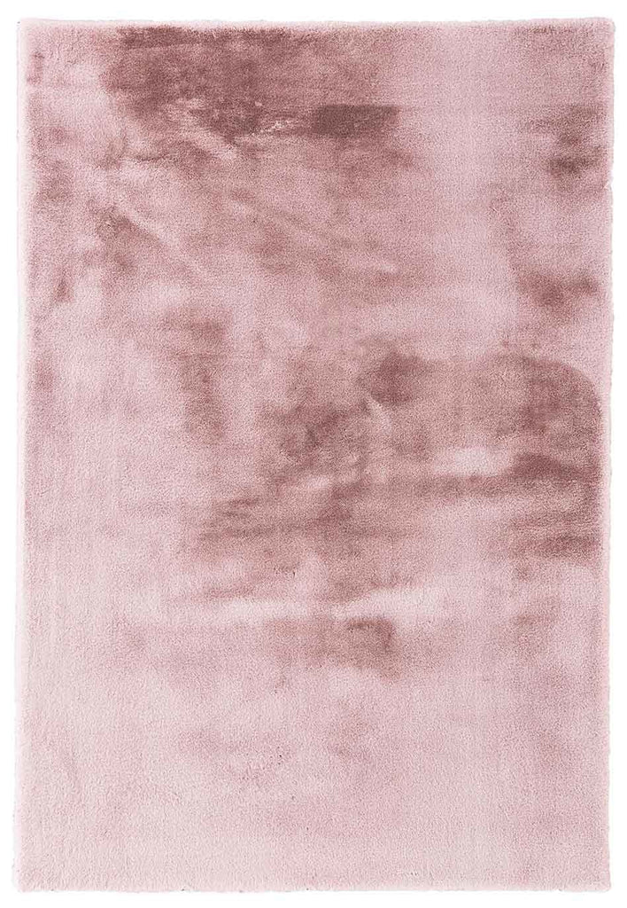 Etalon Faux Fur Blush Pink Super Soft Shaggy Rug