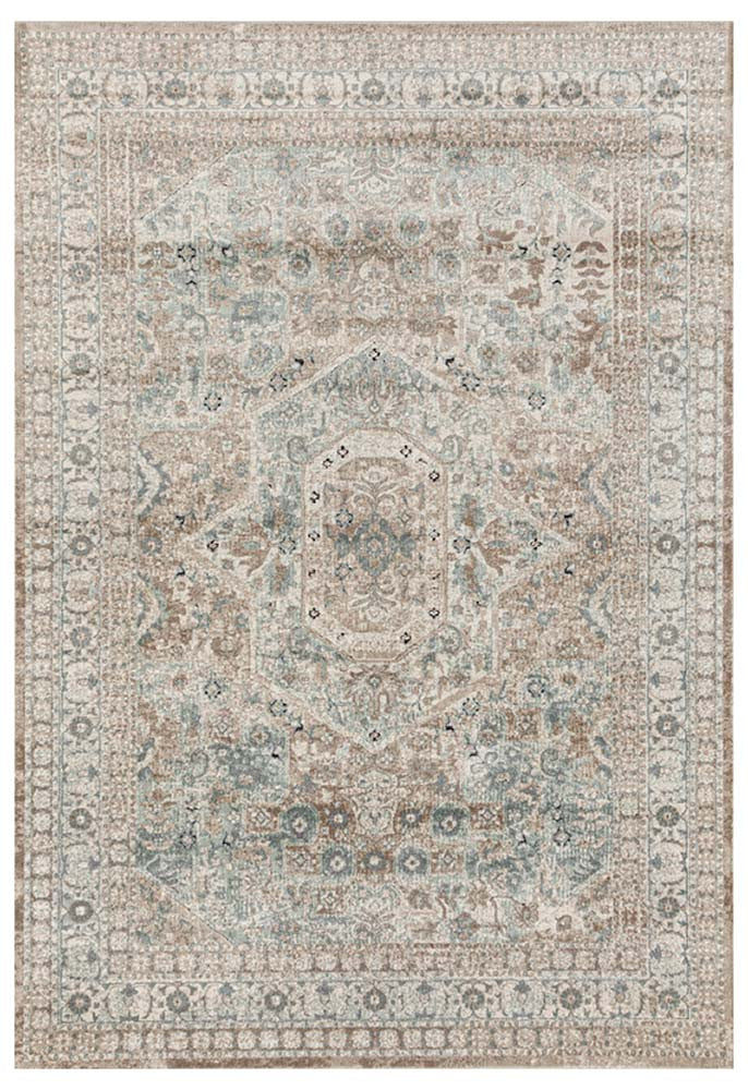 Devine Central Traditional Beige Rug