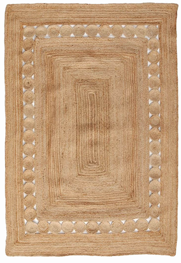 Surat Braided Natural Fibre Rug - Coconapple