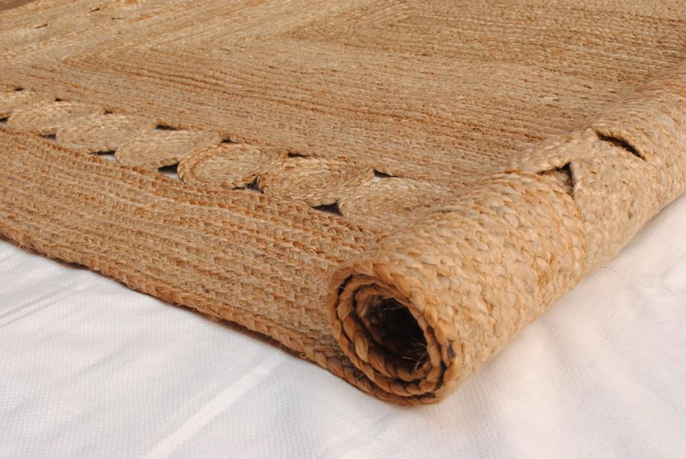 Surat Braided Natural Fibre Rug - Coconapple2