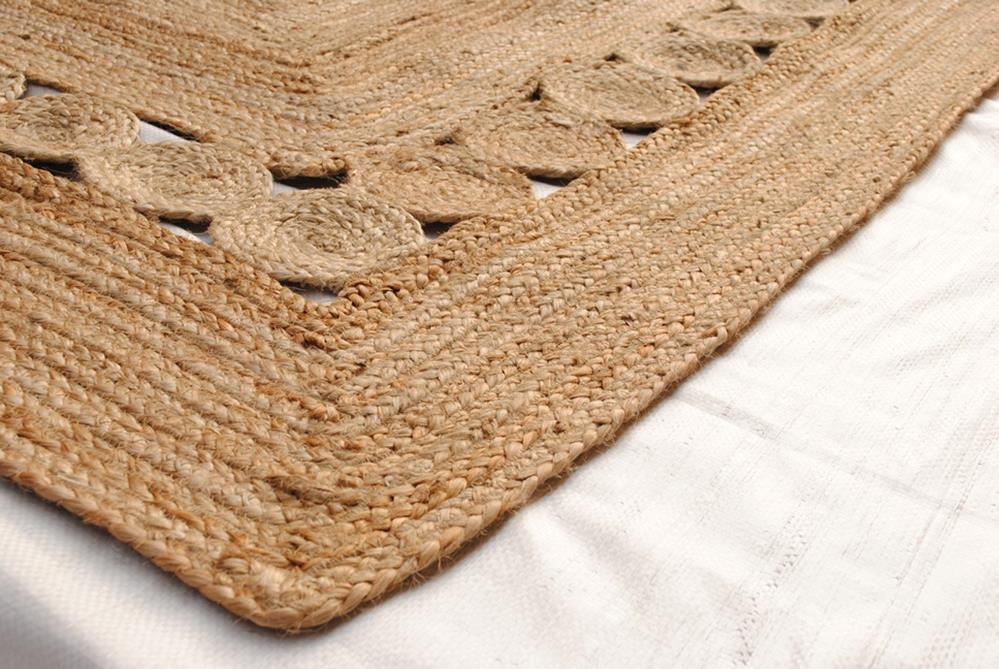 Surat Braided Natural Fibre Rug - Coconapple3