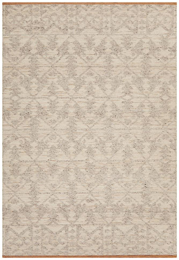 Anne Tribal Ivory Natural Modern Floor Rug