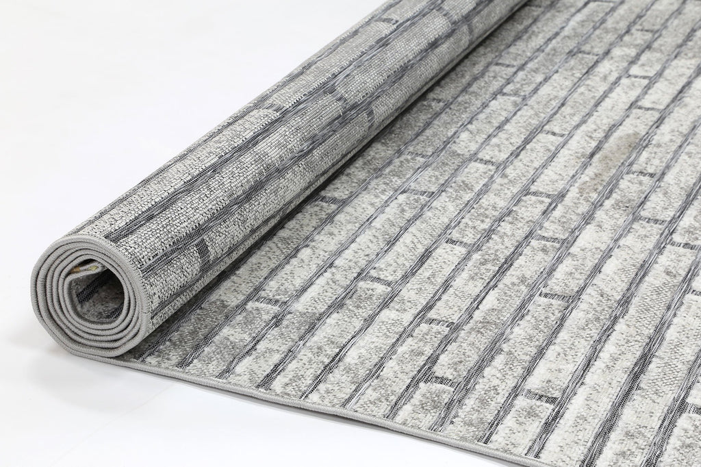 Baja Urban Grey Indoor Outdoor Rug