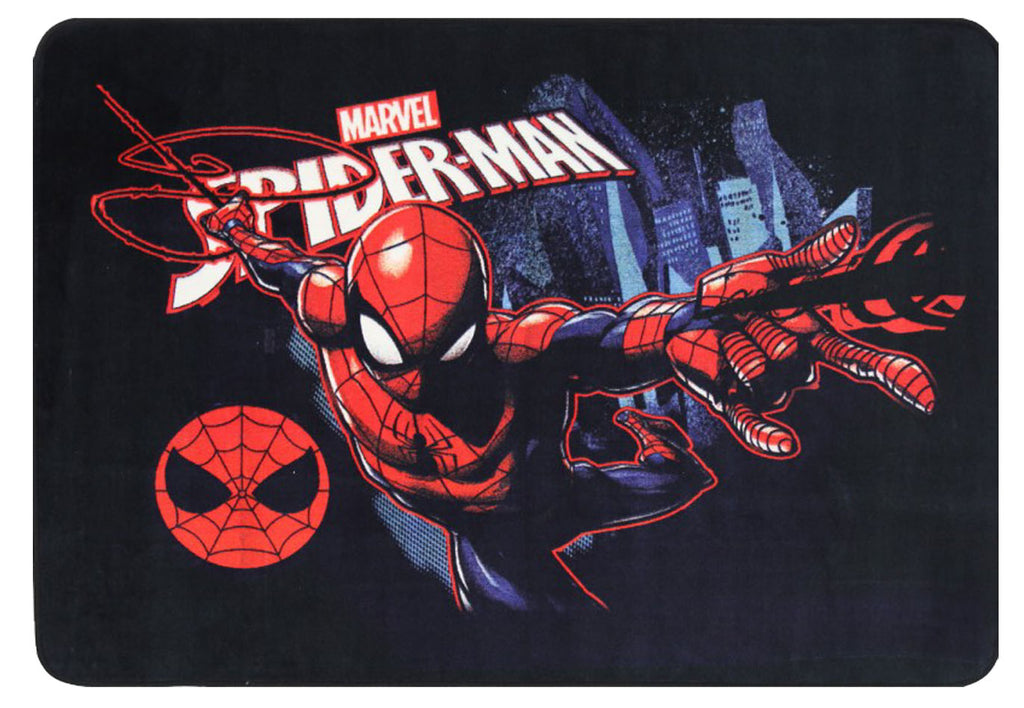 Super Kids Marvel Spiderman Swing Superhero Fun Floor Rug