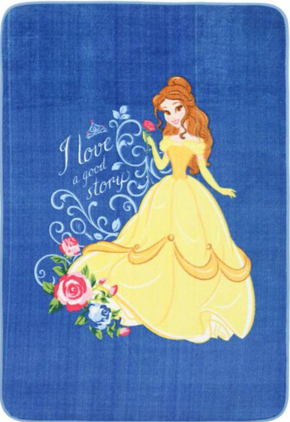 Super Kids Belle Beauty & The Beast Fun Floor Rug