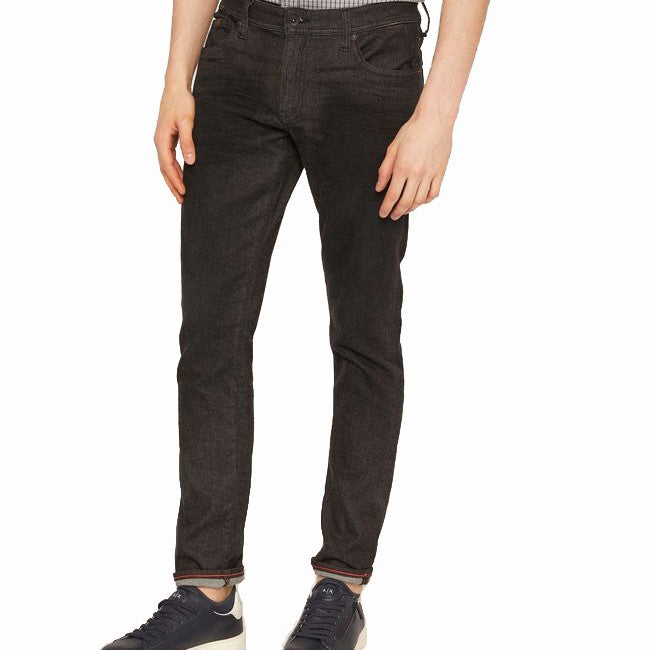 Armani Exchange Black Denim Jeans 6ZZJ13-Z1DBZ