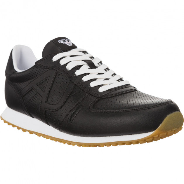 Armani Jeans Black Sneakers 935027