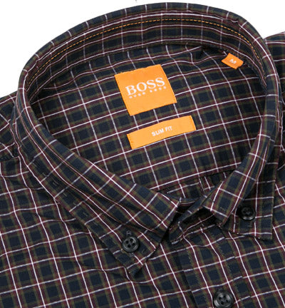 Hugo Boss Orange Shirt