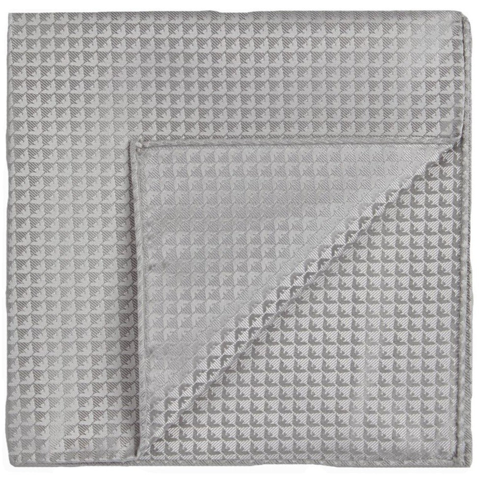 Emporio Armani Geometric Pocket Square - Ignition For Men