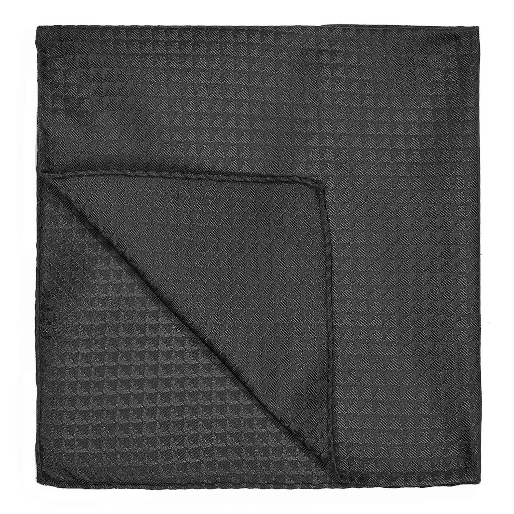 Emporio Armani Slate Grey Pocket Square - Ignition For Men