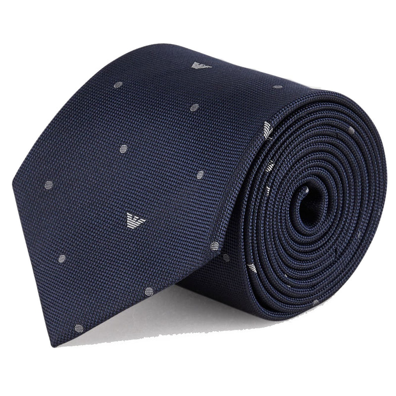 Emporio Armani Night Blue Tie - Ignition For Men