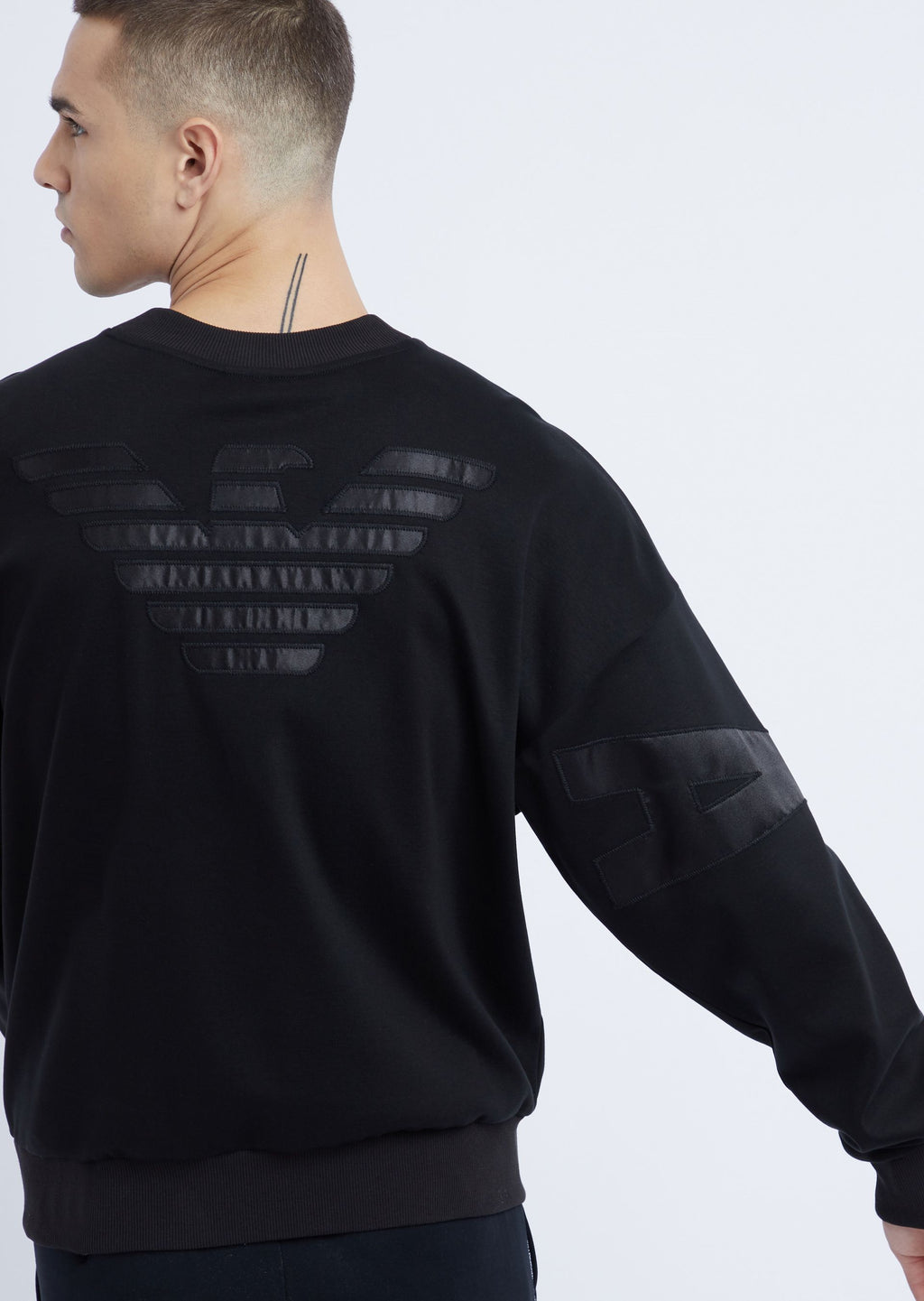 Emporio Armani Interlock Sweatshirt