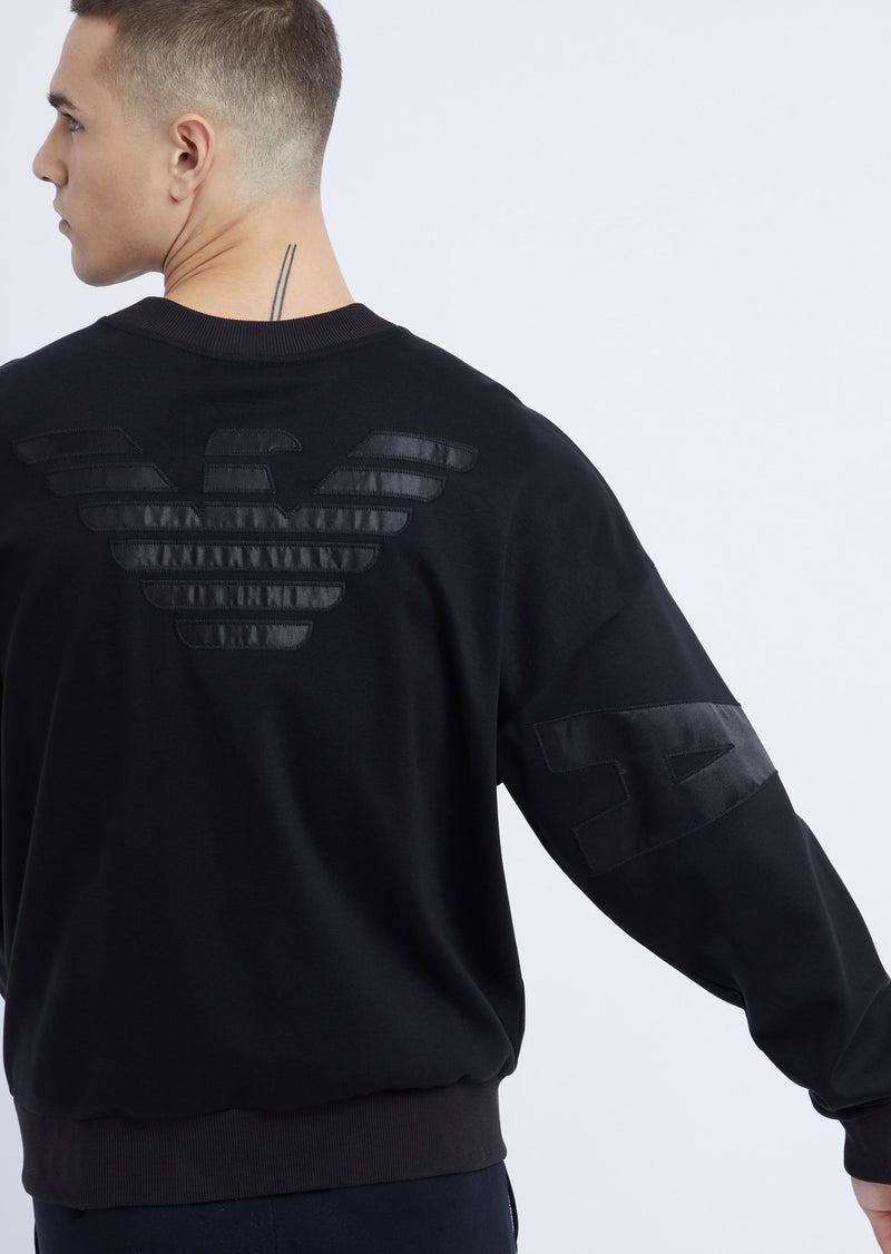 Emporio Armani Interlock Sweatshirt - Ignition For Men