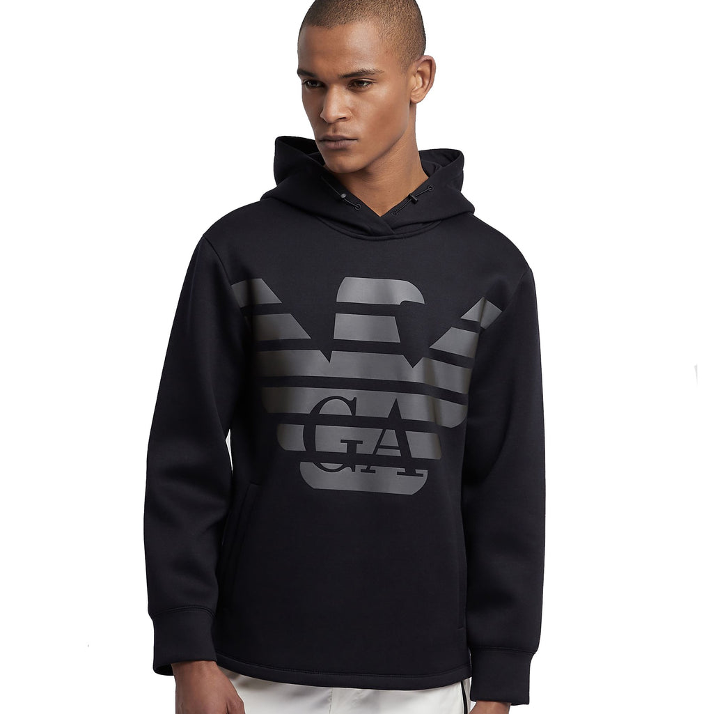 Emporio Armani R-EA-MIX Sweatshirt 3G1MR2 1JTYZ Black