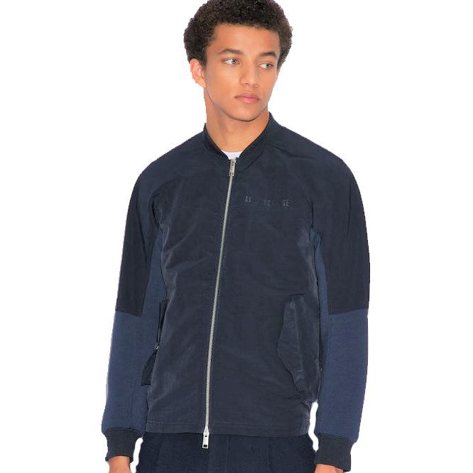 Armani Exchange Bomber Jacket 3GZB39-ZNCYZ Navy