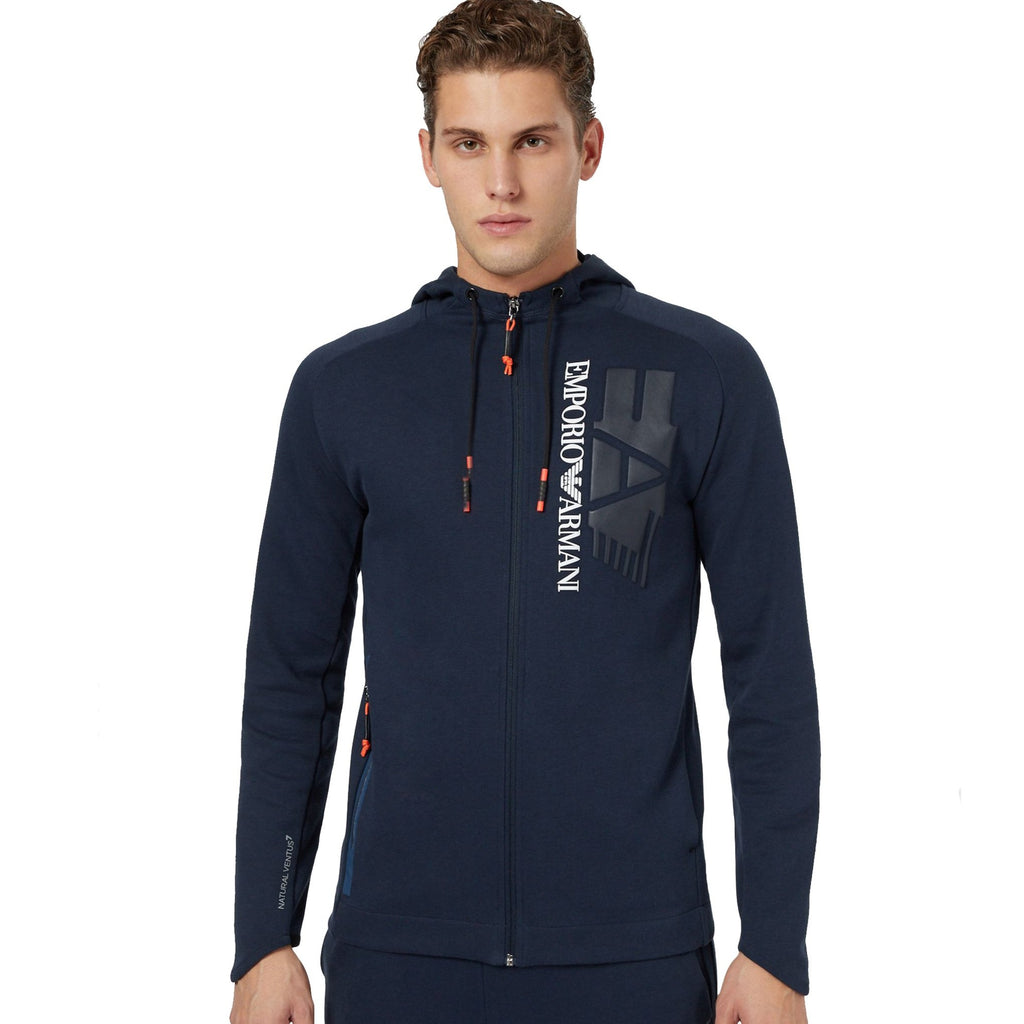 EA7 Hoodie Jacket - Ignition For Men