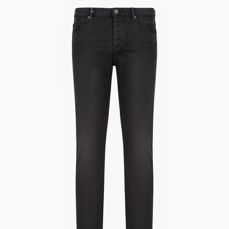 Armani Exchange Tailored Skinny Jeans J10 3KZJ10 Z1BXZ 0204 Black