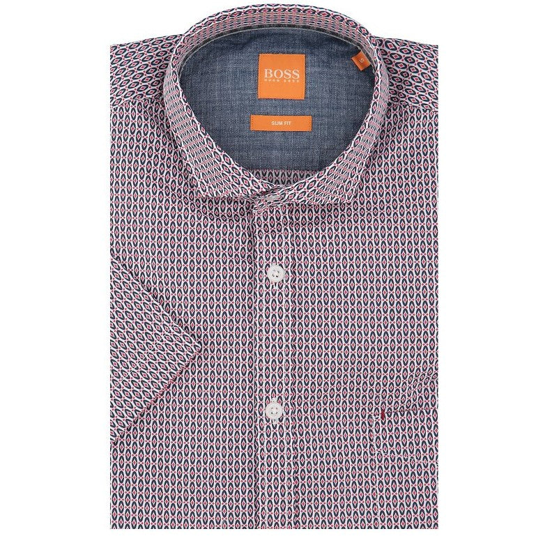 Boss Orange Short Sleeve Shirt 50329647