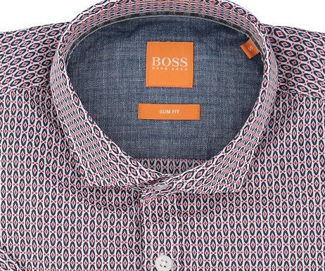 Hugo Boss Orange Short Sleeve Shirt - Ignition For Men