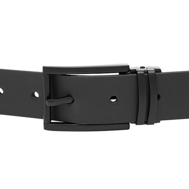 Buckle Black Belt - Ignition For Men